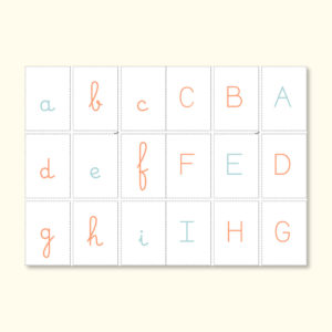 Miniatura abecedario